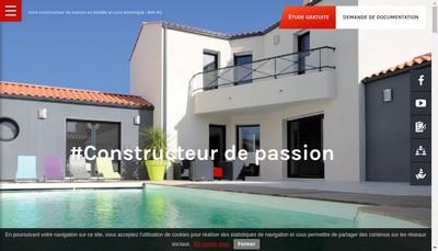 Site internet de SARL Bati 85
