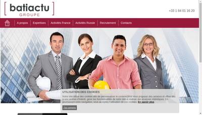 Site internet de Cap Infopro-Batiactu