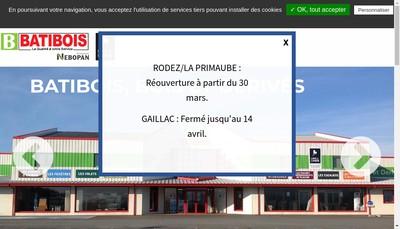 Site internet de Batibois