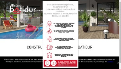 Site internet de Batidur Immo +