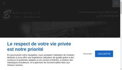 Site internet de Batignolle