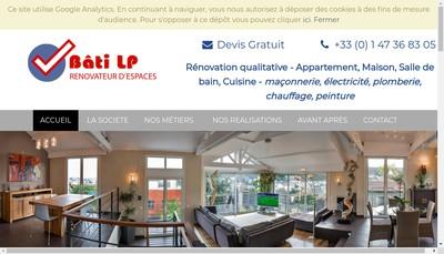 Site internet de Bati-Lp