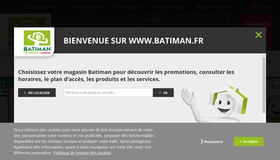 Site internet de Batiman
