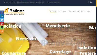Site internet de Batinor