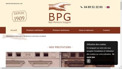 Site internet de Bati-Peinture