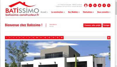 Site internet de Batissimo