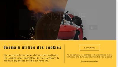 Site internet de Baumalu