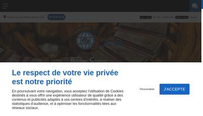 Site internet de Bobinage Chartrain