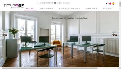 Site internet de Business Center Opera