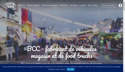 Site internet de Bcc