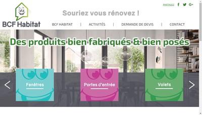 Site internet de Concept Alu
