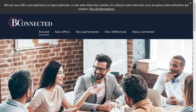 Site internet de Bconnected Strategy