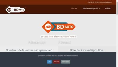 Site internet de Bd Auto