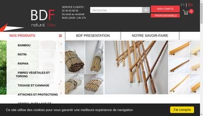 Site internet de Comptoir du Rotin - Globstor
