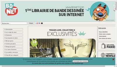 Site internet de Bd Net Nation