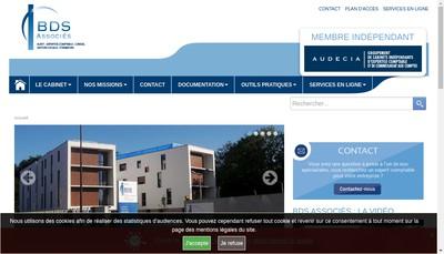 Site internet de Cabinet Bds Associes