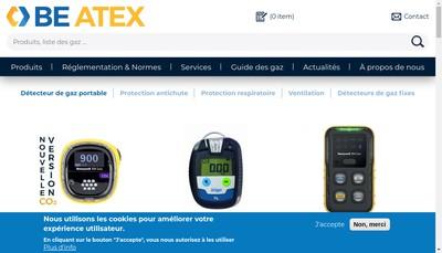 Site internet de Be-Atex