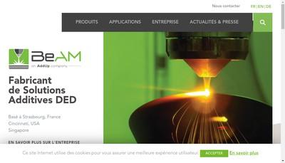 Site internet de Beam