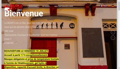 Site internet de Bears Toulouse
