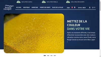 Site internet de Beau Nuage