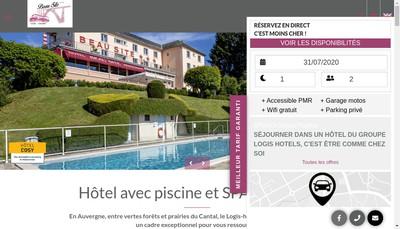 Site internet de Hotel Beau Site