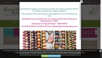 Site internet de Beaumonde