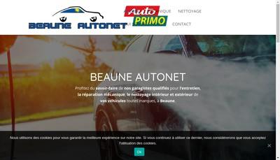 Site internet de Drone 21 Concept Beaune Autonet Beaune Autopassion