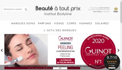 Site internet de Societe d'Exploitation Bodyline