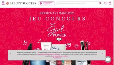 Site internet de Jm Parfums