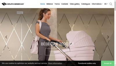 Site internet de Bebecar France