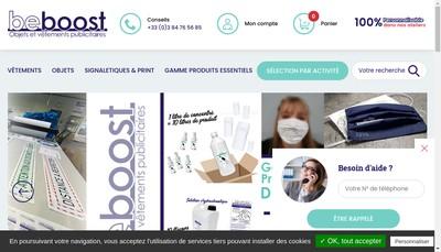 Site internet de Beboost