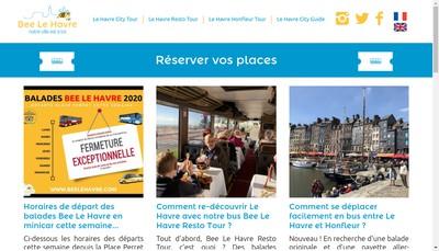 Site internet de Bee le Havre
