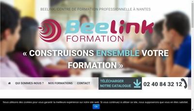 Site internet de Beelink Formation