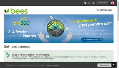 Site internet de Bees-Bioenergy Events And Services