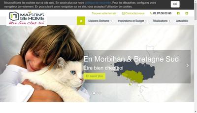 Site internet de Maison Be Home