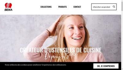 Site internet de Beka France