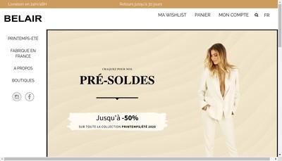Site internet de SARL Bel'Air