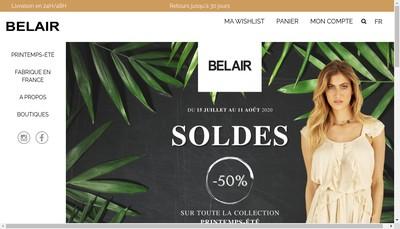Site internet de Bel Air Finance