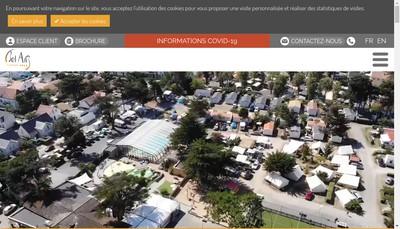 Site internet de Camping Bel Air