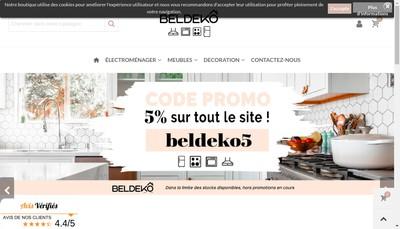 Site internet de Beldeko
