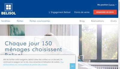 Site internet de Belisol