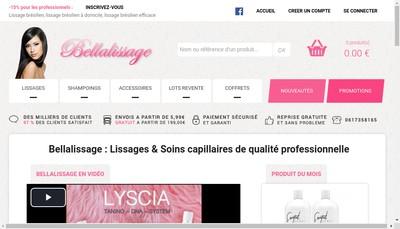 Site internet de Bellalissage Com