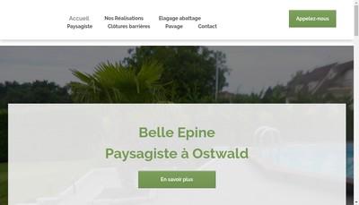 Site internet de Walther et Fils la Belle Epine