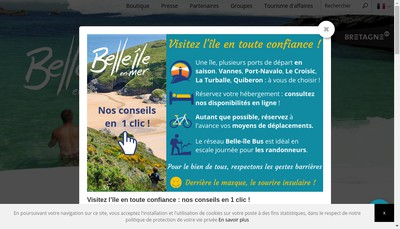 Site internet de Belle-Ile