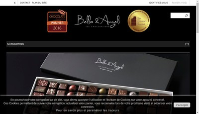 Site internet de Ab Chocolat