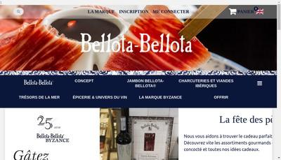 Site internet de Bellota-Bellota Boulogne