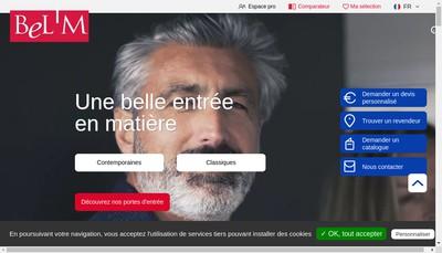 Site internet de Porte Entree