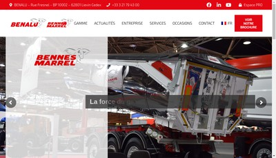 Site internet de Benalu