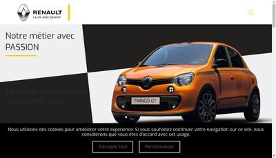 Site internet de Berard Automobile