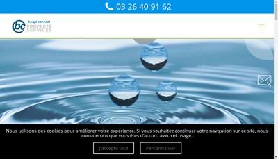 Site internet de Bc Proprete Services
